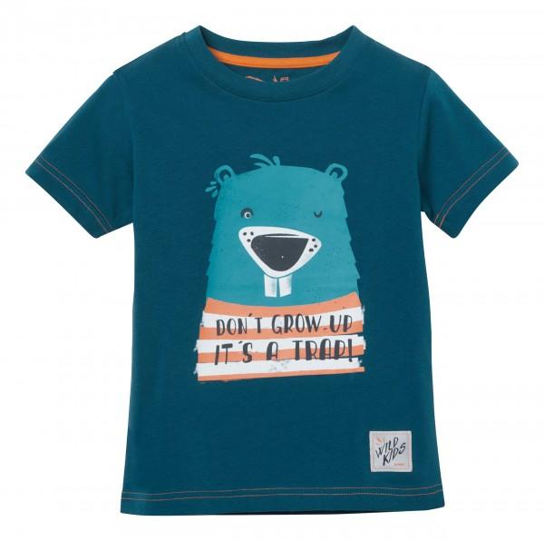T-Shirt blau Kinder