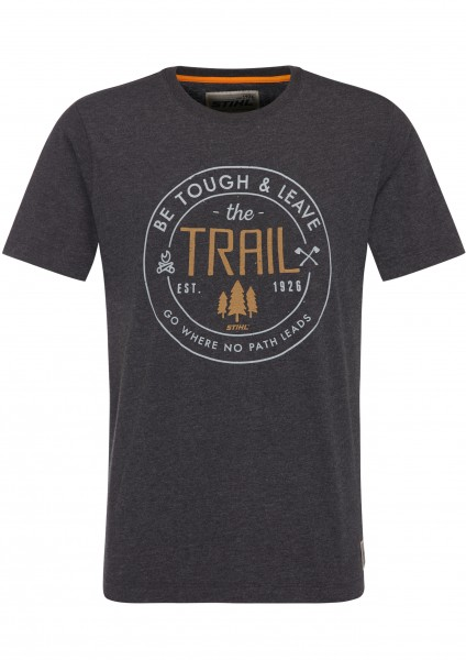 T-Shirt BE TOUGH, Dunkelgrau