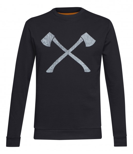 Sweatshirt AXE WOOD schwarz