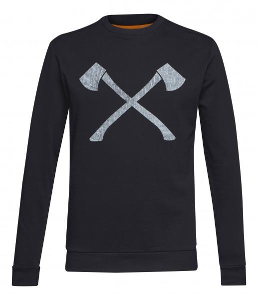 Sweatshirt AXE WOOD schwarz