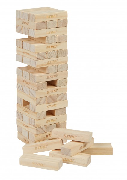 Spiel Holzstapelturm