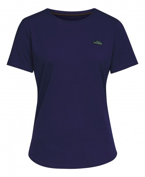 T-Shirt Damen ICON blau
