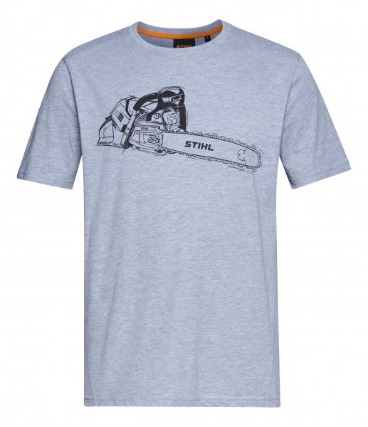T-Shirt MS 500i grau
