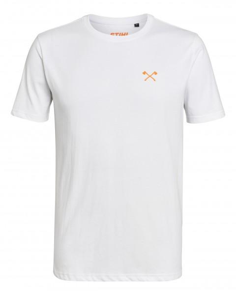 T-Shirt SMALL AXE weiß