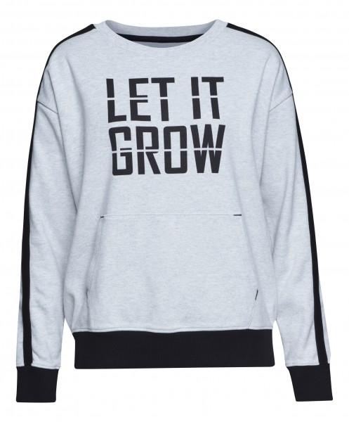 Sweatshirt GROW grau