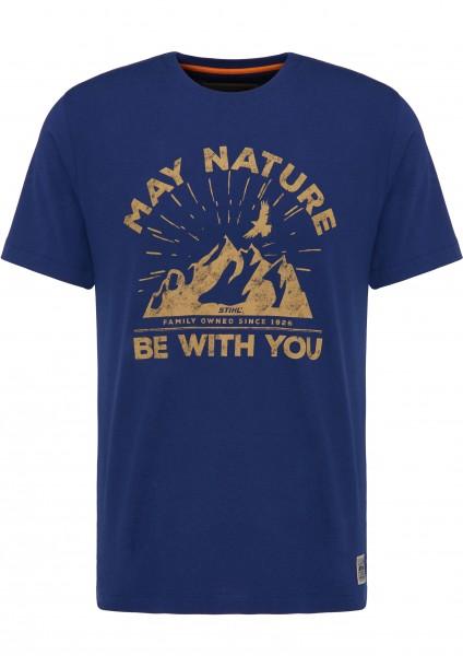 T-Shirt MAY NATURE, Blau