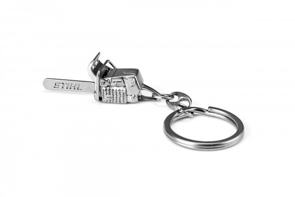 Schlüsselanhänger Motorsäge Metall