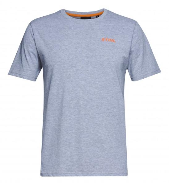 T-Shirt LOGO-CIRCLE grau