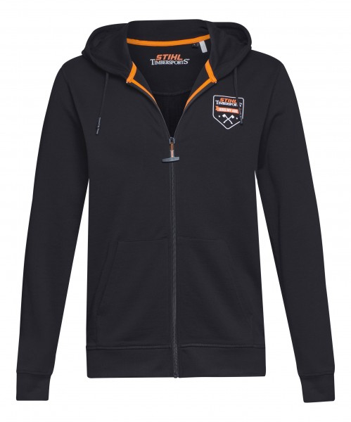 Sweatjacke KISS MY AXE grau