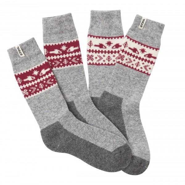 Socken 2er Set WINTER