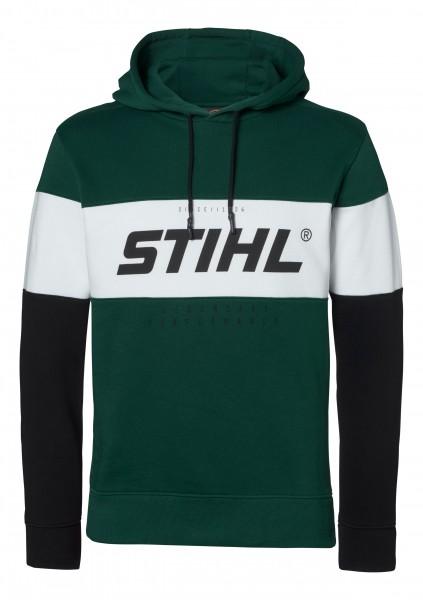 Hoodie schwarz/grün