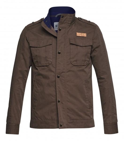 Field Jacket BADGE braun