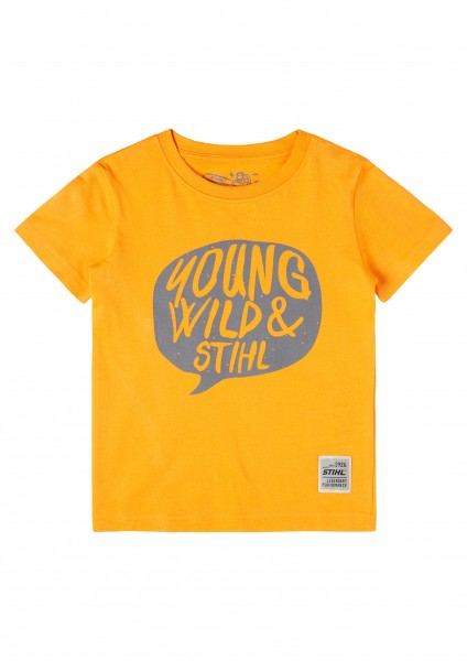Kids T-Shirt YOUNG WILD