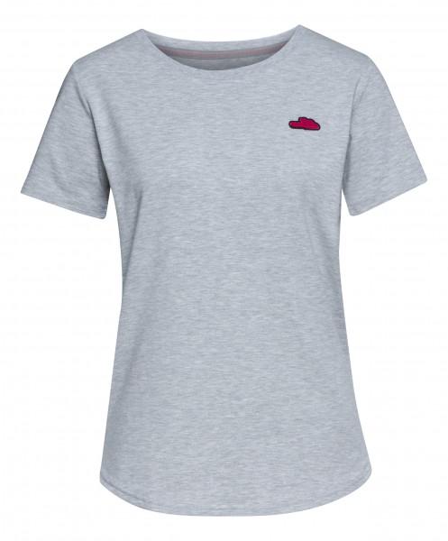 T-Shirt Damen ICON grau