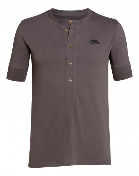 T-Shirt HENLEY grau