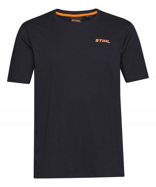 T-Shirt LOGO-CIRCLE schwarz