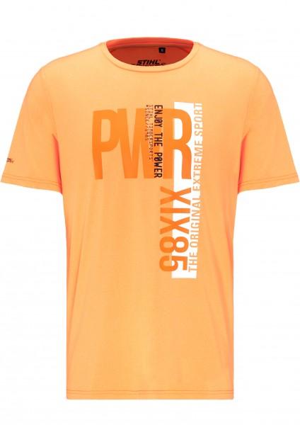 Kurzarm-Funktionsshirt POWER orange