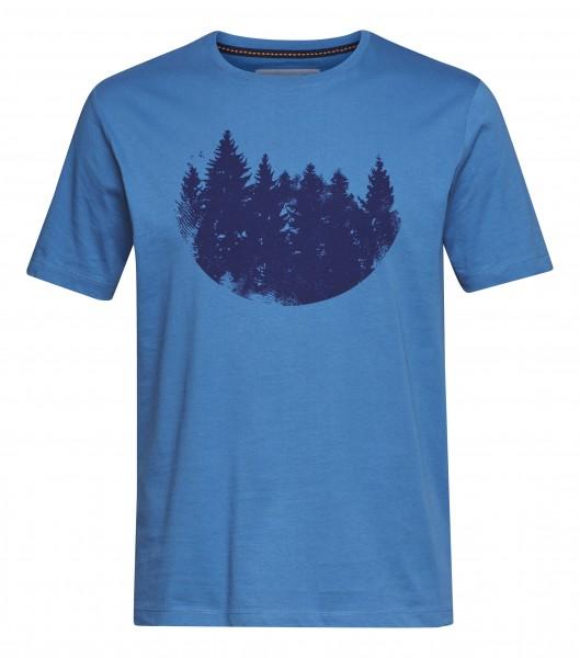 T-Shirt FIR FOREST blau