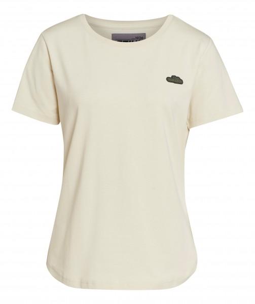 T-Shirt ICON Damen beige