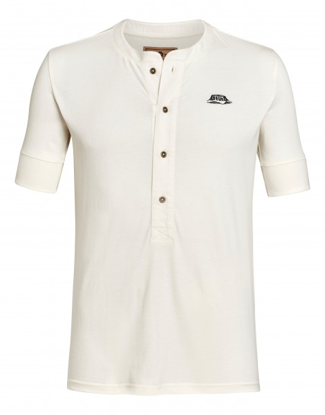T-Shirt HENLEY weiß
