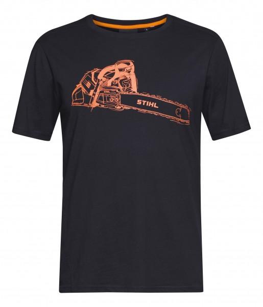 T-Shirt MS 500i schwarz