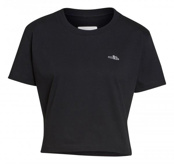 T-Shirt ICON Damen schwarz